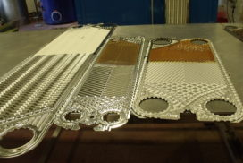 Heat Exchanger Plates Cleaning Process