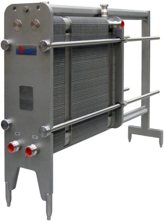 APV-SPX Type H17 Plate Heat Exchanger