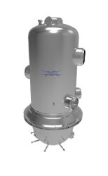 Alfa Laval Welded Plate and Shell Heat Exchanger, Ziepack