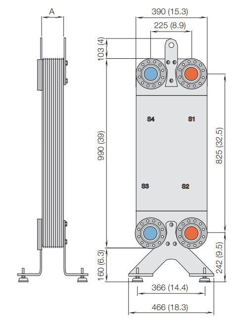 Alfa laval cb400 теплообменники funke технические характеристики
